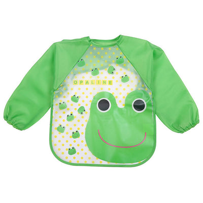 Cute Baby Bibs Waterproof Full Sleeve - ibootskids