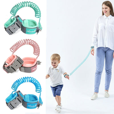 360 Toddler Baby Safety Harness Leash Kid Anti Lost Wrist Traction Rope Band - ibootskids
