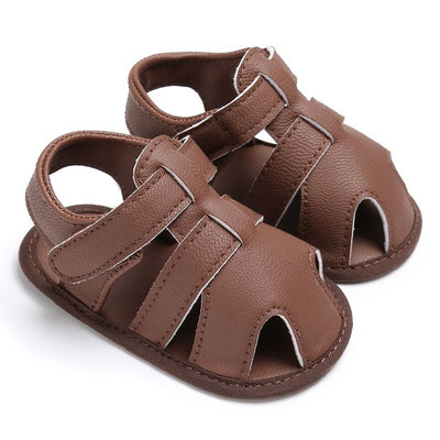 Summer Newborn Baby Boys Shoes PU Leather kids schoenen First Walkers Soft Soled  Infant Prewalker - ibootskids