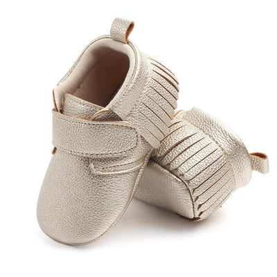 WEIXINBUY 6 Colors Brand Spring Baby Shoes PU Leather Newborn Boys Girls Shoes Non-Slip First Walkers Baby Moccasins 0-12 Months - ibootskids