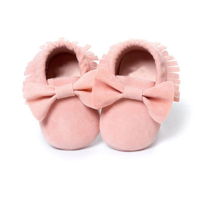 Baby Girls Shoes First Walkers Newborn Baby Moccasins Soft Boy Girl Fringe Soft Soled Non-slip Footwear  Shoes - ibootskids