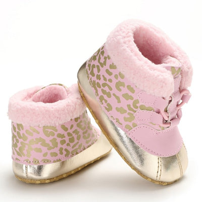 Winter Soft Plush Baby Booties - ibootskids