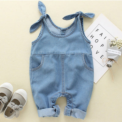 Fashion Toddler Overalls Baby Girls Suspender Denim Pants Cotton Baby Boy Overall Girls New Summer Cute Overalls Pants For Kids - ibootskids