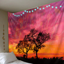 Load image into Gallery viewer, Blissful Sunset Tapestry