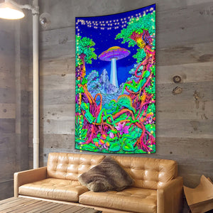 Alien Takeover Tapestry