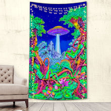 Load image into Gallery viewer, Alien Takeover Tapestry