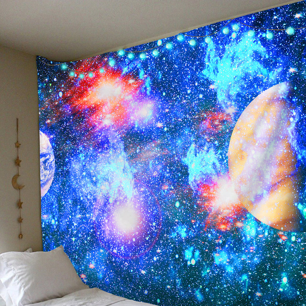 Atomic Galaxy Tapestry