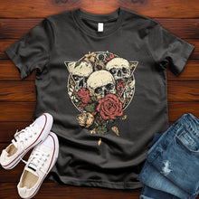 Load image into Gallery viewer, Skeleton Bouquet Tee