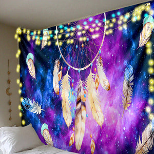 Dreamcatcher Galaxy Tapestry