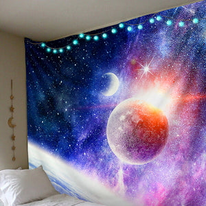 Space Planets Nebula Tapestry
