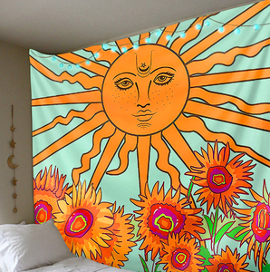 Sunflower Tarot Tapestry