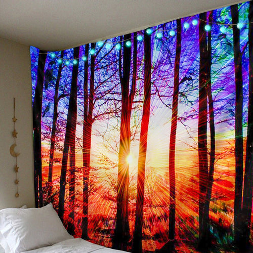 Blissful Sunshine Tapestry tapestry Trippy Tapestry