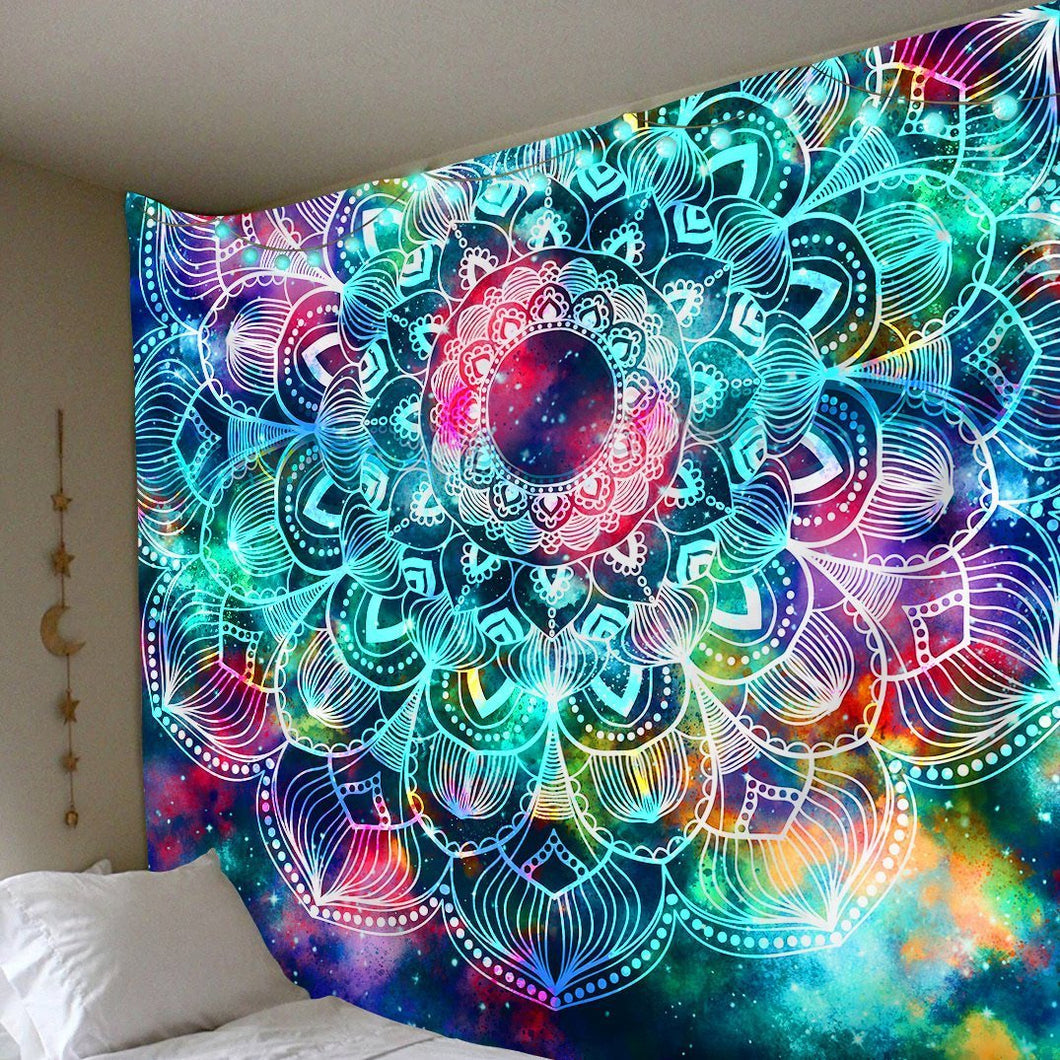 Infinite Space Tapestry tapestry Trippy Tapestry