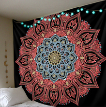 Load image into Gallery viewer, Calming Mandala Tapestry