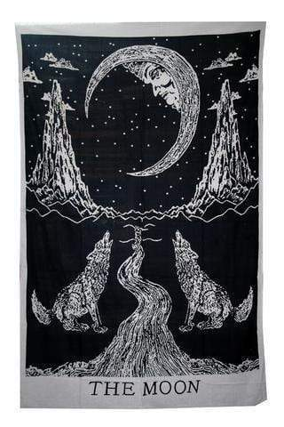 Crying Wolf HD Tapestry