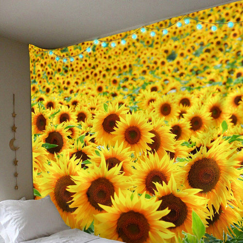 Sunflower Patch Tapestry tapestry Trippy Tapestry