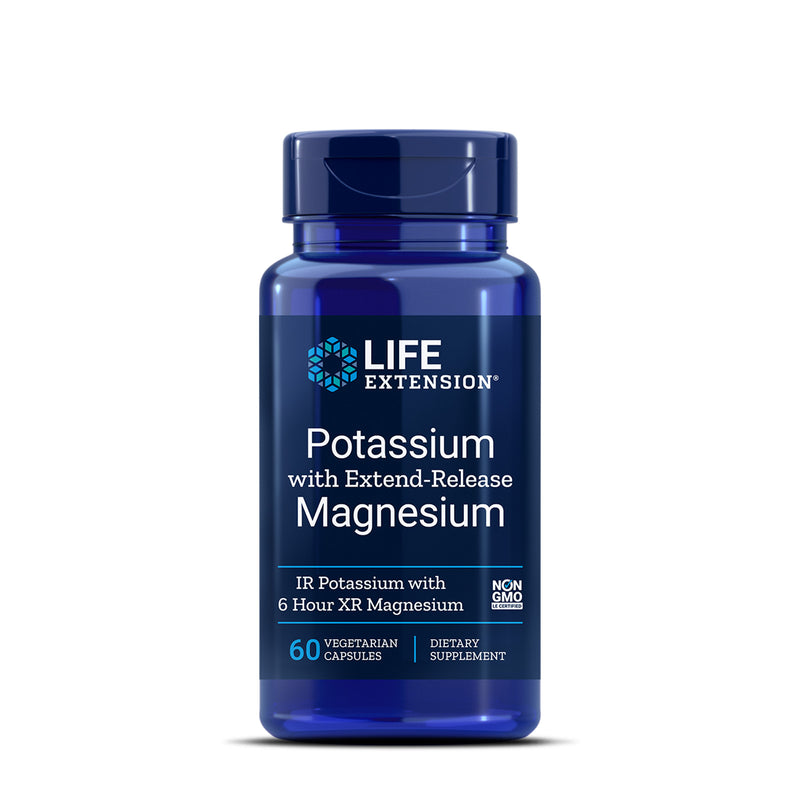 라이프익스텐션 마그네슘 칼륨 60캡슐 - Life Extension Potassium with Extend Release Magnesium 60 cap