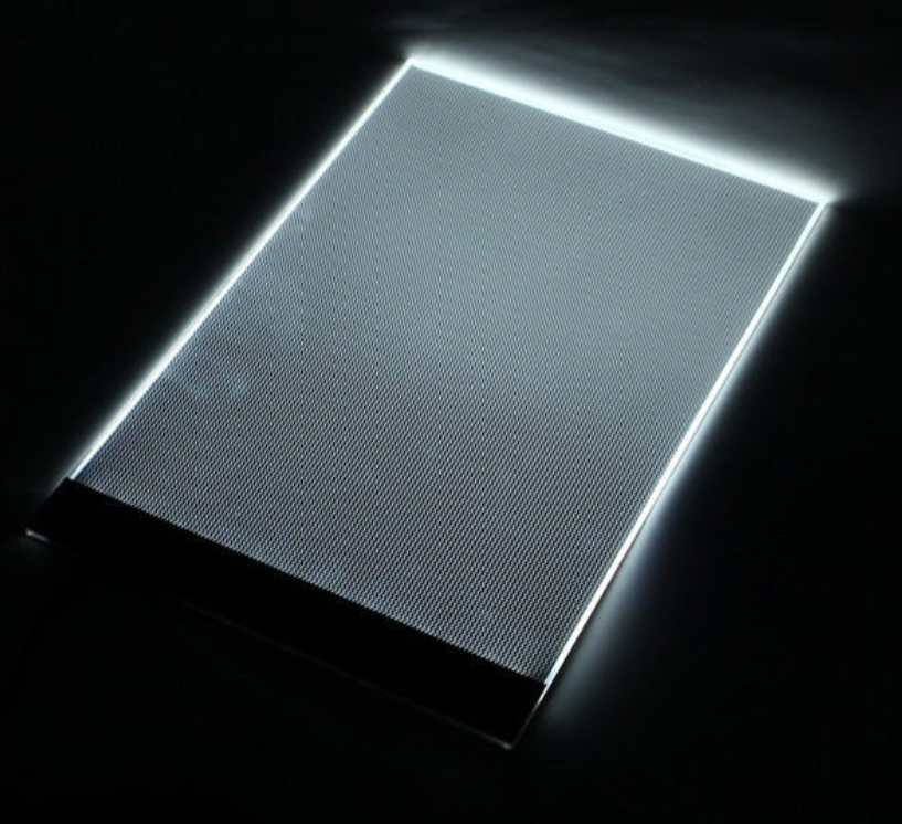 Magic Touches A4 Ultra-Thin Portable LED Light Box Tracer LED Artcraft Tracing Light Pad Light Box w 3 Level Brightness for Artists Drawing Sketching and Tracing