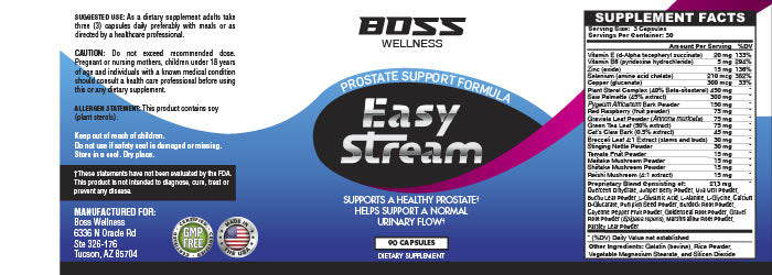 EasyStream - The #1 product to help support a healthy prostate-Shop at Mags™