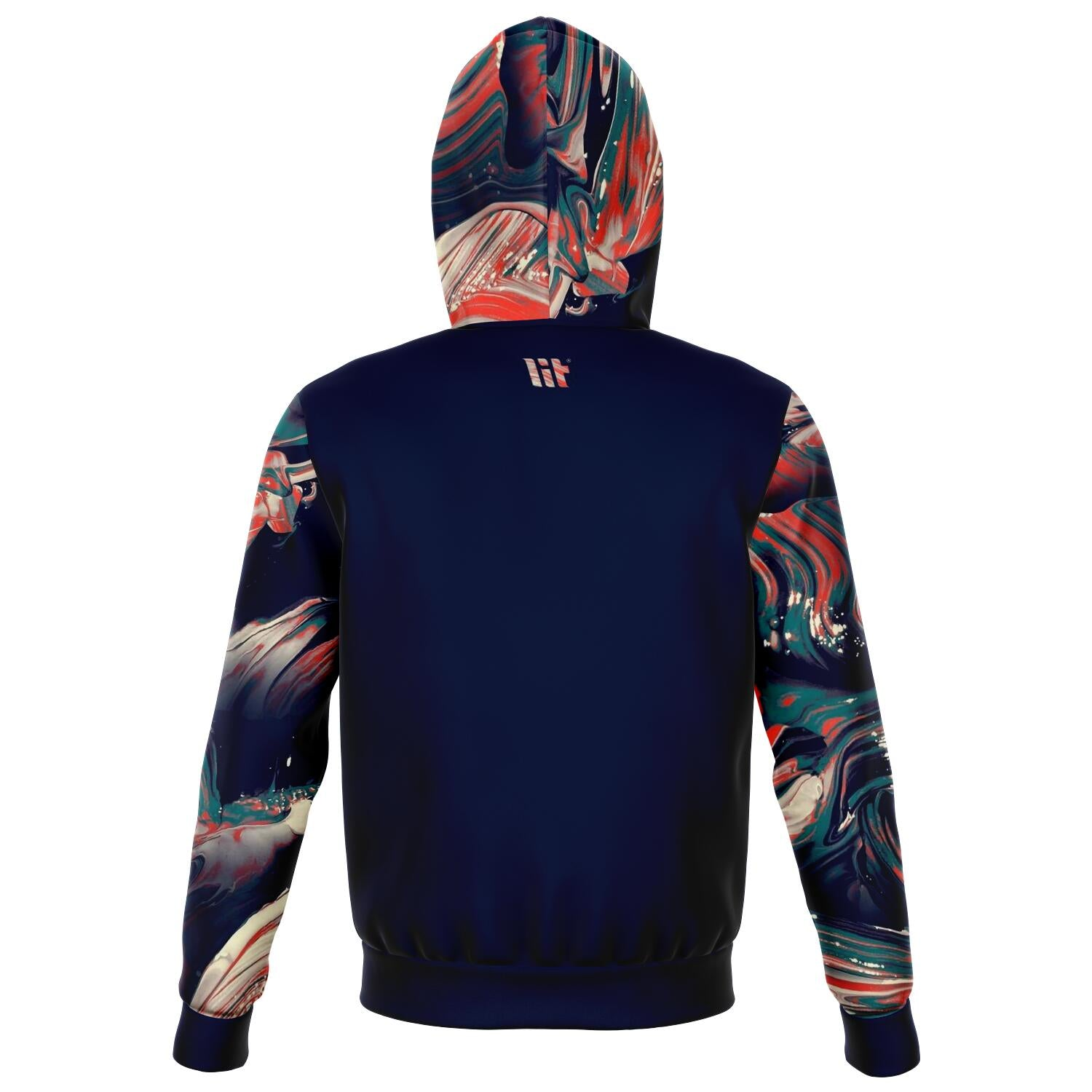 Cortistatin all over print zip up hoodie unisex - front image