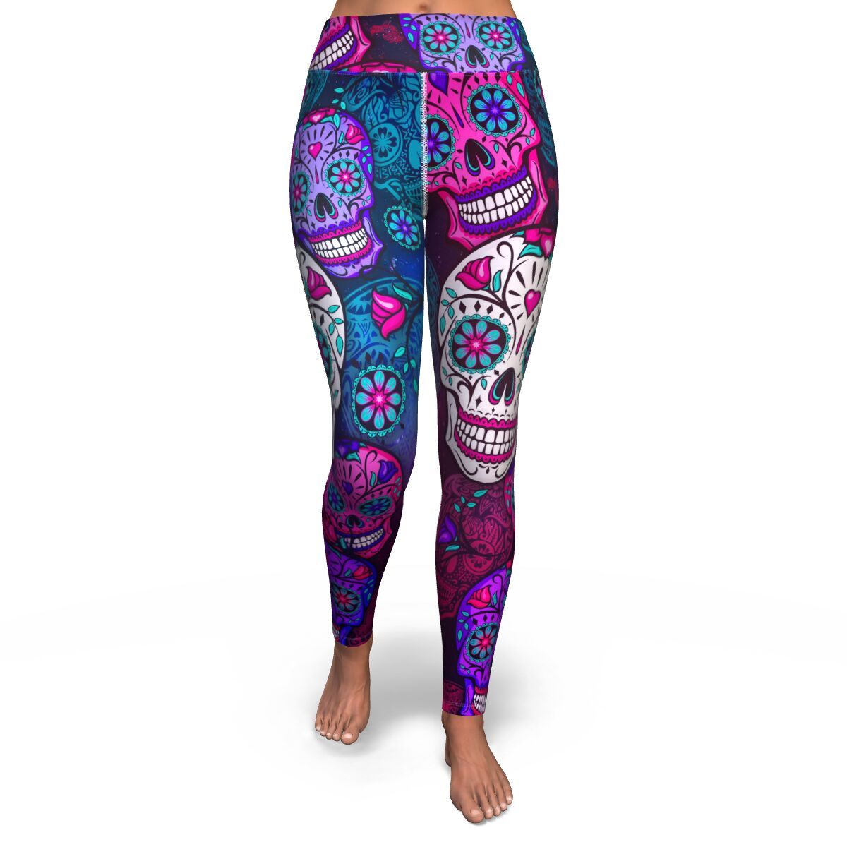 Sugar Skull Women's Yoga Leggings