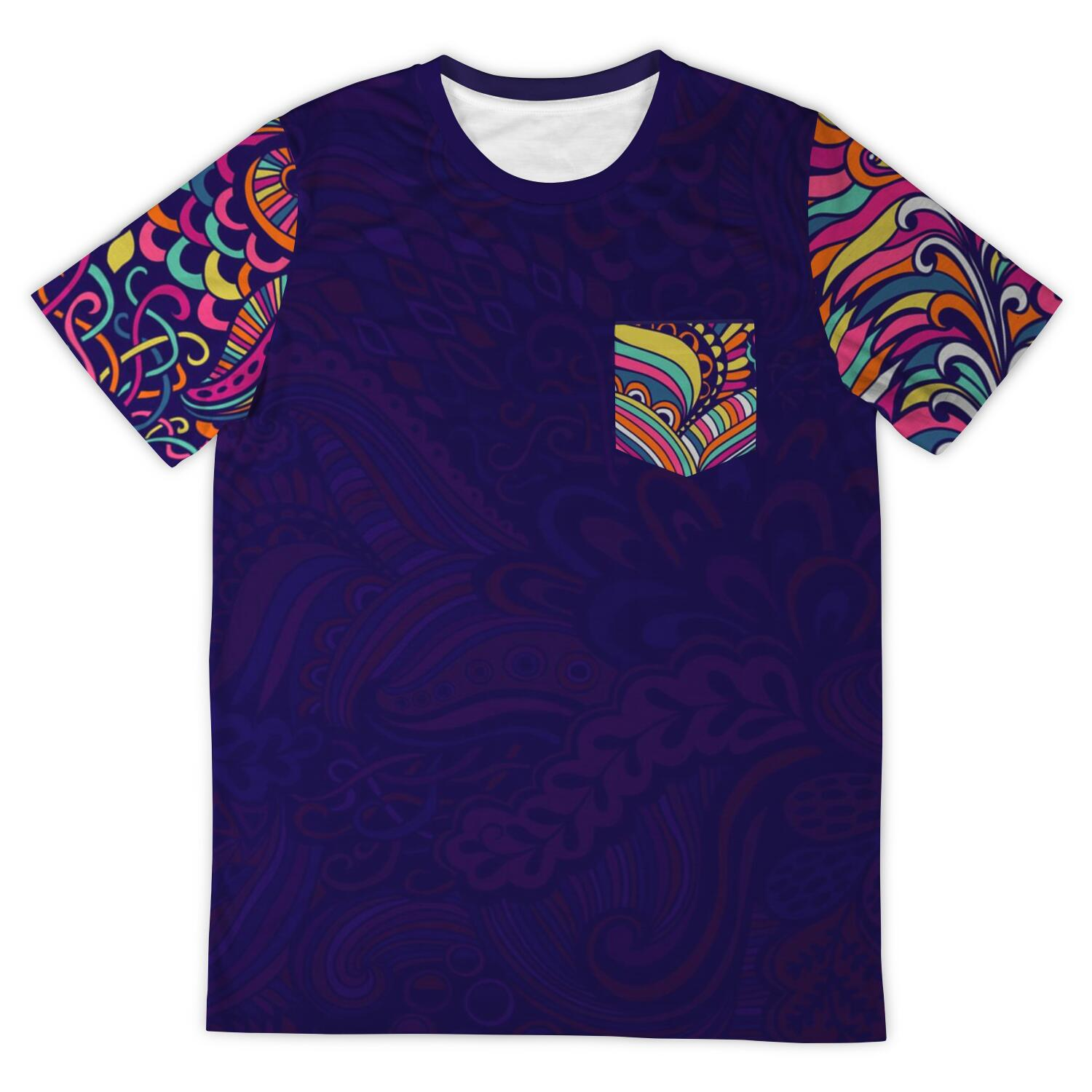 Psychedelic Mess V1 Unisex Tee