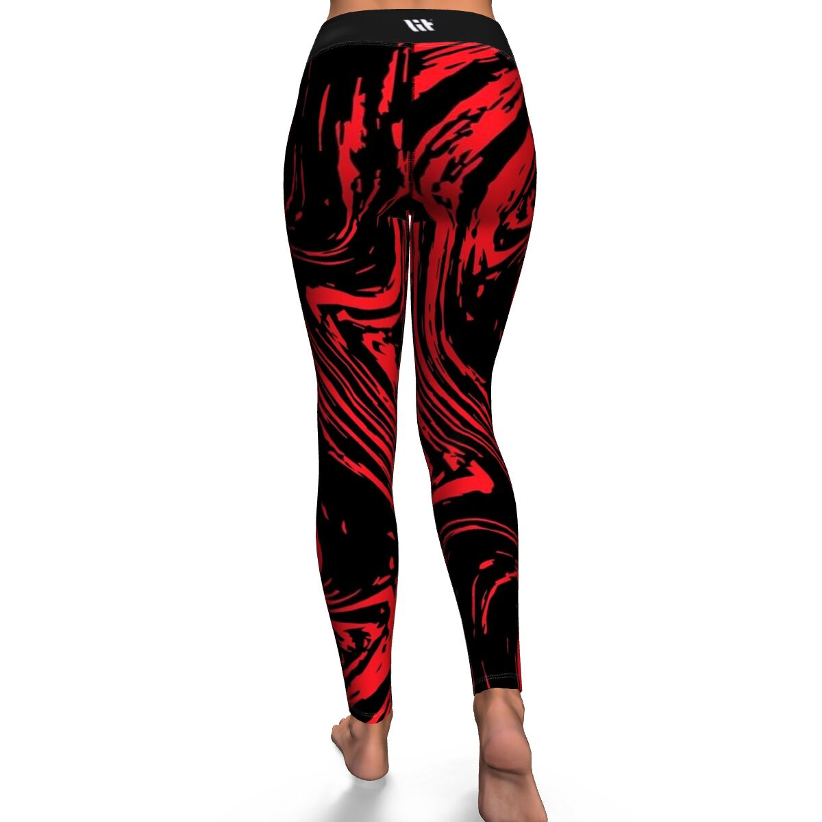 Grungy Thoughts Women's Yoga Leggings