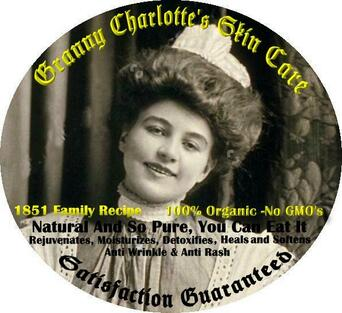 Image of Granny's Skin Care product label