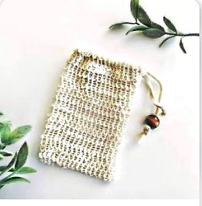 Natural Ramie Hand Made Soap Saver Bag