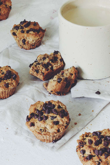 Muffin All'Avena e Cioccolato