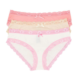 MULTIPACK BIKINIS WITH LACE