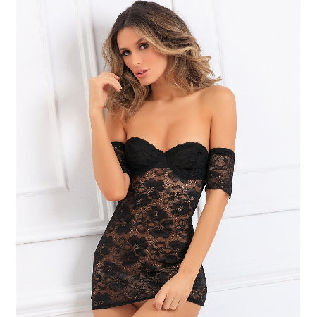 BABYDOLL LACE SEDUCTIVELY