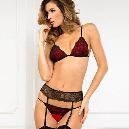 CONJUNTO CROWN PLEASURE GARTER