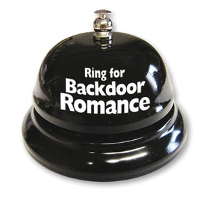RING FOR BACKDOOR ROMANCE BELL
