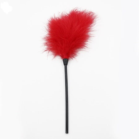 FEATHER TICKLER-Rojo
