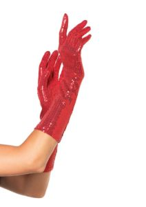 GUANTES SEQUIN ELBOW LENGTH