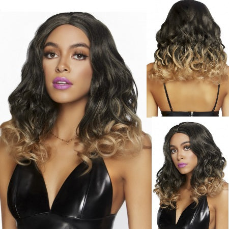PELUCA CURLY OMBRE LONG BOB