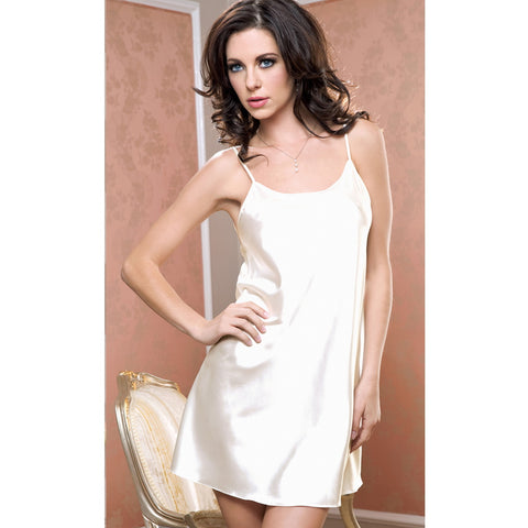 BABYDOLL MINI DE SATIN