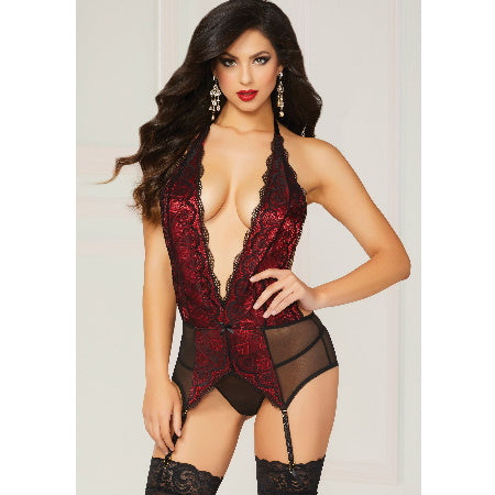 BABYDOLL GALOON LACE & MESH