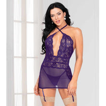 BABYDOLL LACE AND MESH