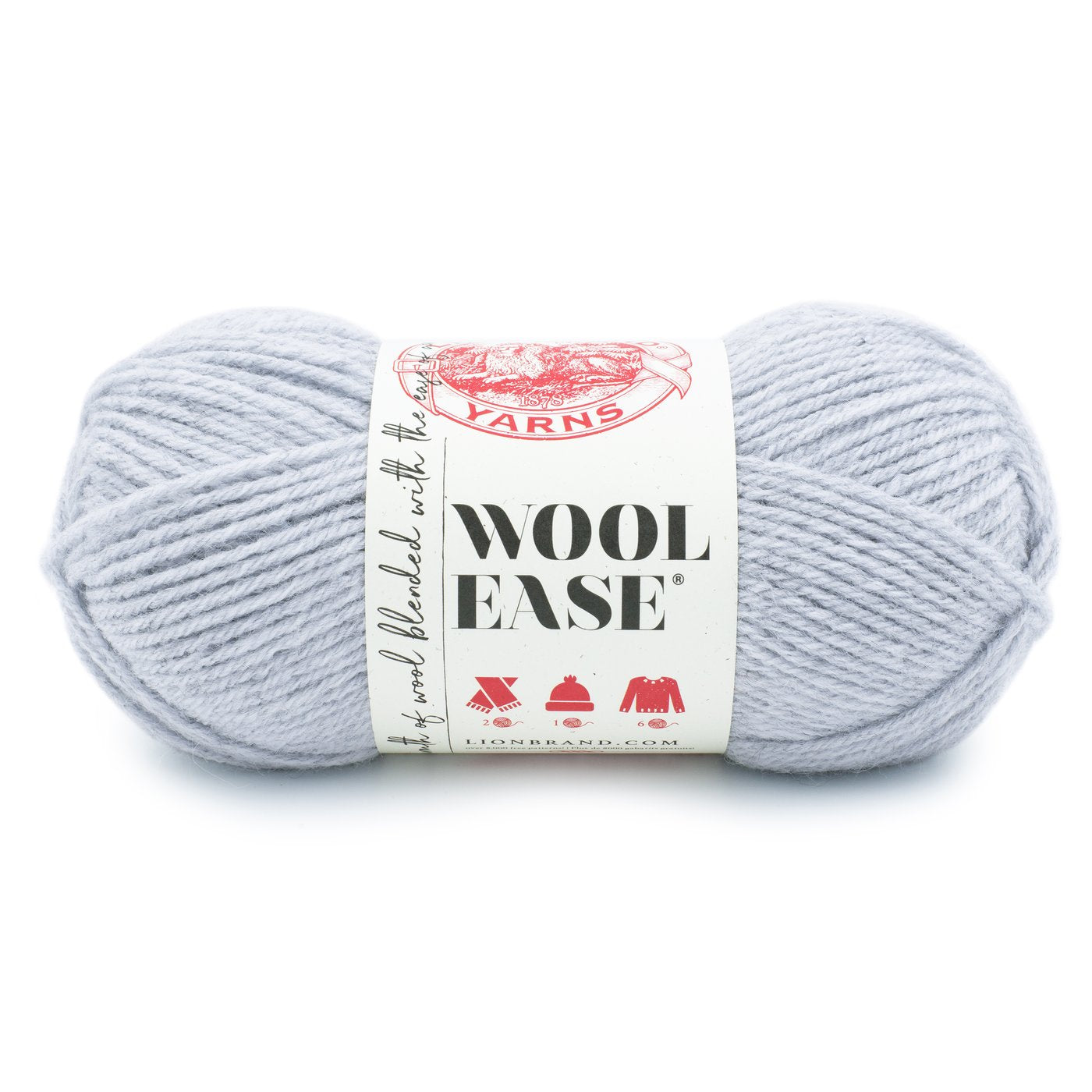 Lion Brand Wool-Ease in Icicle