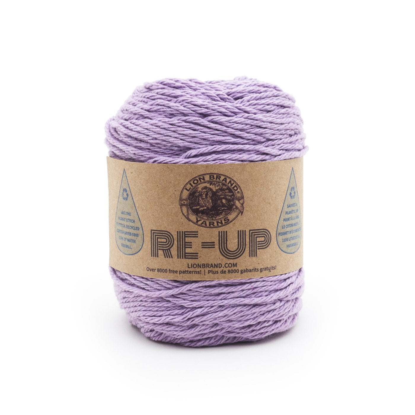 Lion Brand Re-Up in Lilac