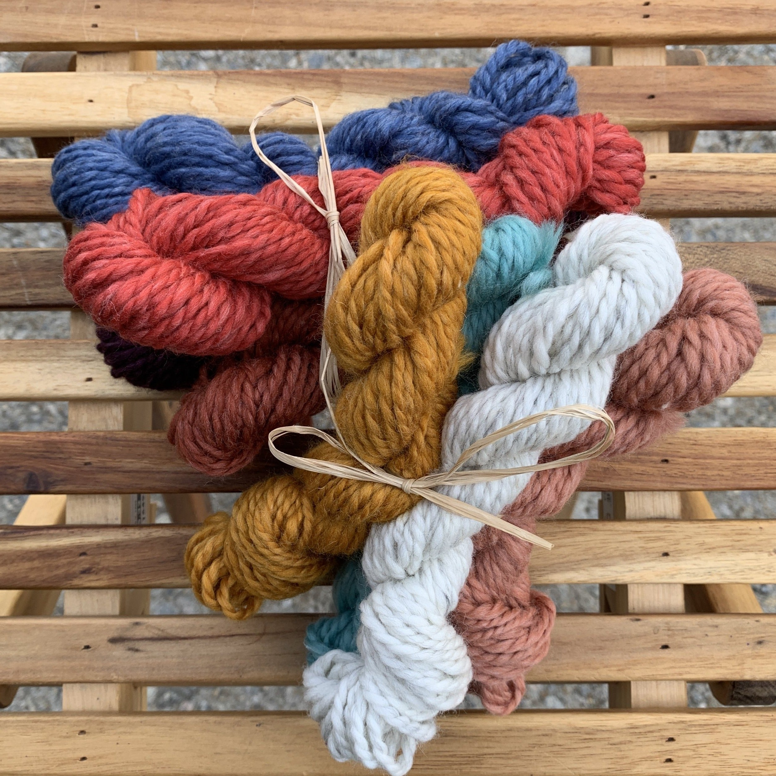 punch needle yarn