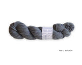 Watershed yarn from Harrisville Designs, worsted weight 100% wool. Soft spun, super heathered, super cushy! Bancroft