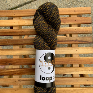 Loop Fiber Studio Yin Yang Fingering in Bears, Oh My!