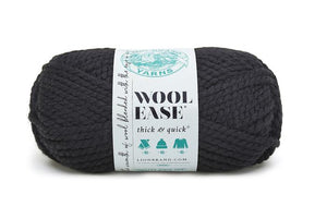 Lion Brand Wool Ease in Black