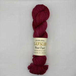 Chelsea Luxe DK in Cranberry Cream Pie