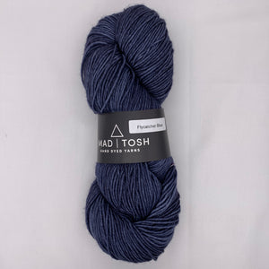 Madeline Tosh Work Sock in Flycatcher Blue