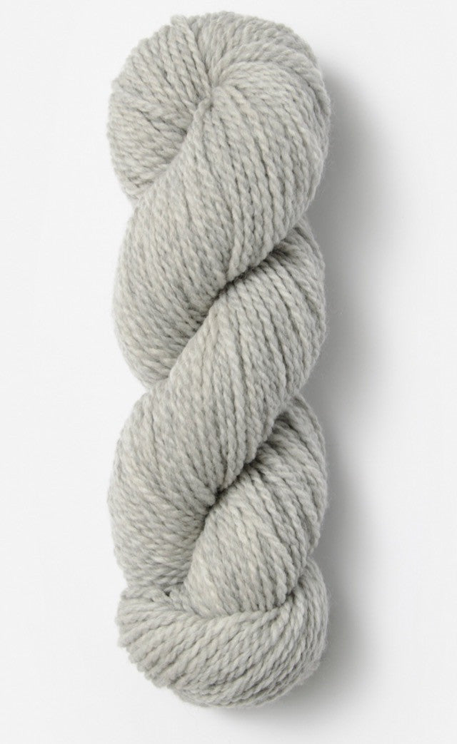Blue Sky Fibers' Woolstok is 100% Fine Highland Wool - 50g / 123yds / 112m or 150g / 370yds / 338m per skein - Grey Harbor