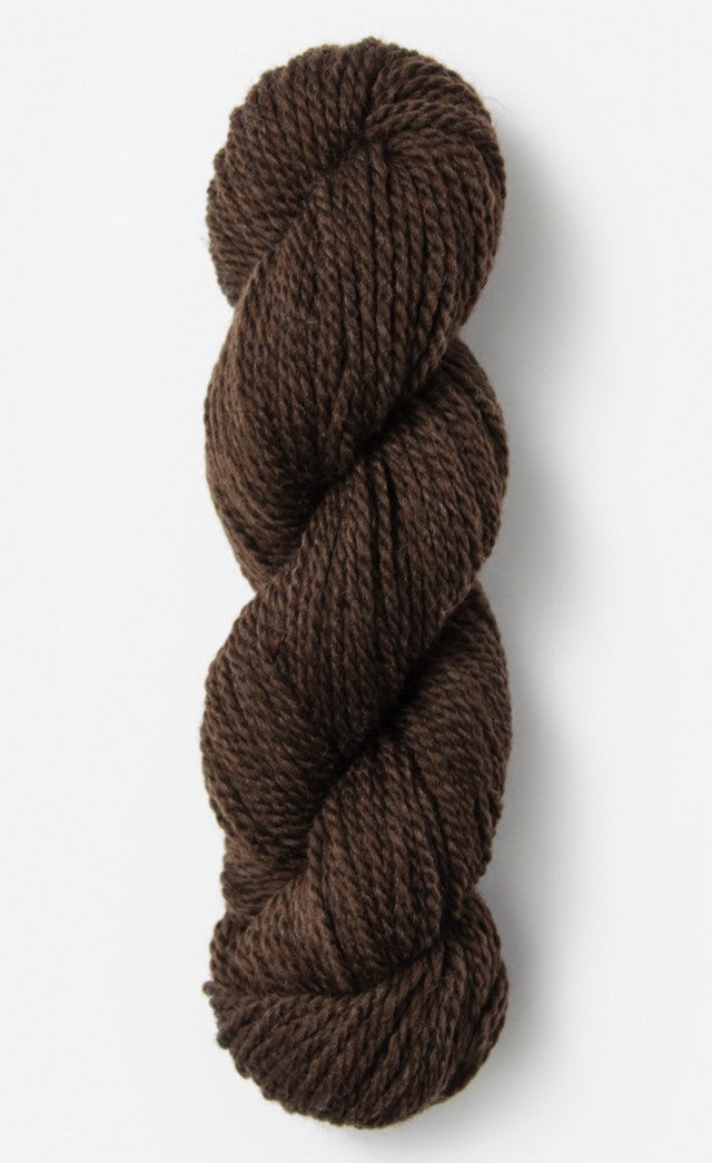 Blue Sky Fibers' Woolstok is 100% Fine Highland Wool - 50g / 123yds / 112m per skein - Dark Chocolate